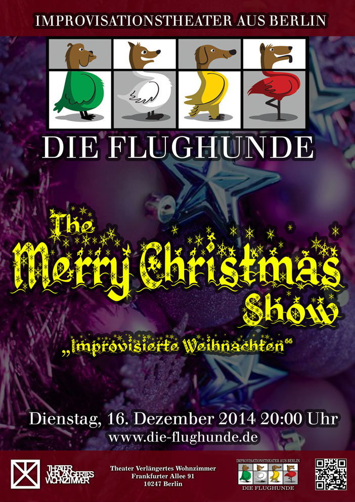 The Merry Christmas Show – Die Flughunde