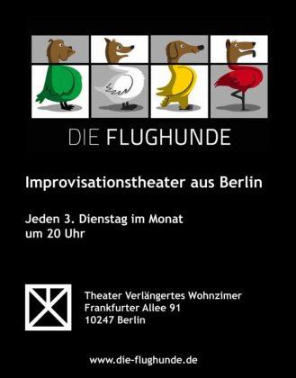 Die Flughunde Impro Comedy Show @ Theater Verlängertes Wohnzimmer | Berlin | Berlin | Deutschland