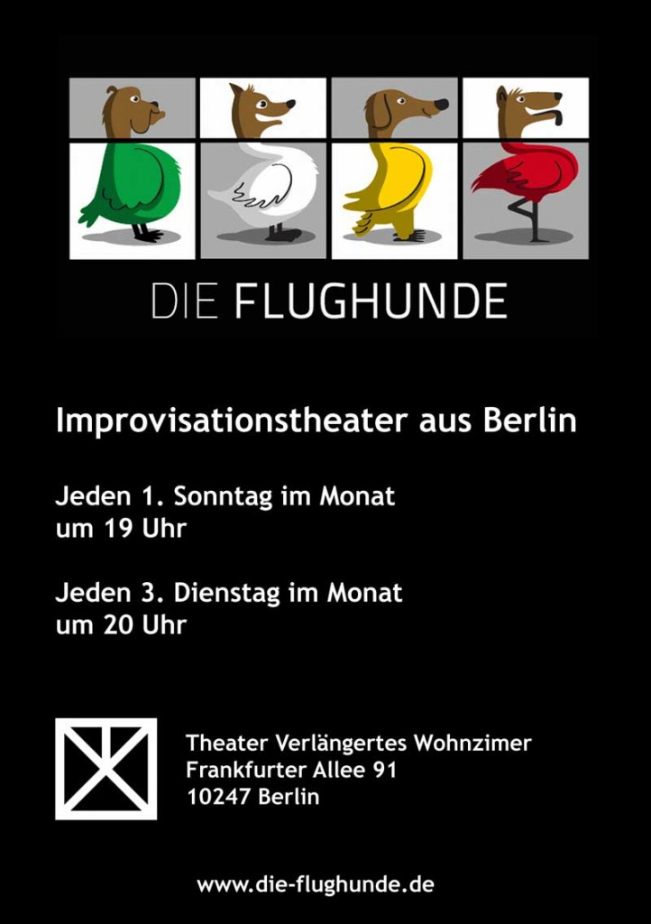 Die Flughunde Improshow! @ Theater Verlängertes Wohnzimmer