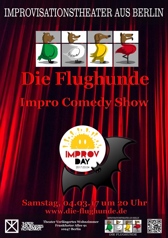Die Flughunde Impro Comedy Show Am Improv Day 2017 Die Flughunde